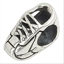 Running Sneaker Runner Shoe Authentic 925 Sterling Silver Charm Fit Pandora Bead