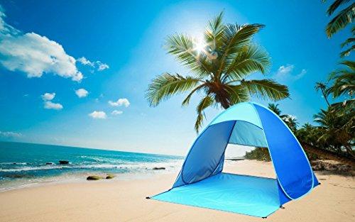IsPerfect Portable Outdoors Pop Up Beach Tent Sun Shelter