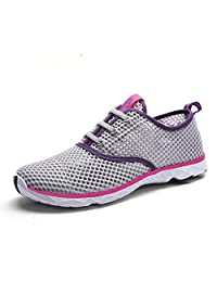 PURVIS Women's Light Weight Mesh Quick Drying Water Shoes