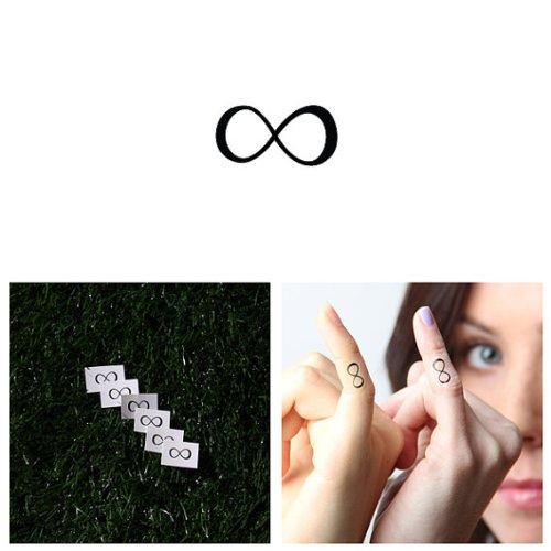 Infinity Symbol temporary tattoo