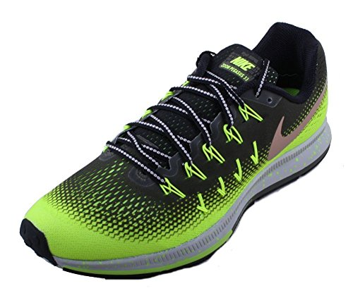 quality design 735ad 69e61 Nike Men's Air Zoom Pegasus 33 Shield, CARGO KHAKI/METALLIC RED  BRONZE-VOLT-BLACK, 10 M US