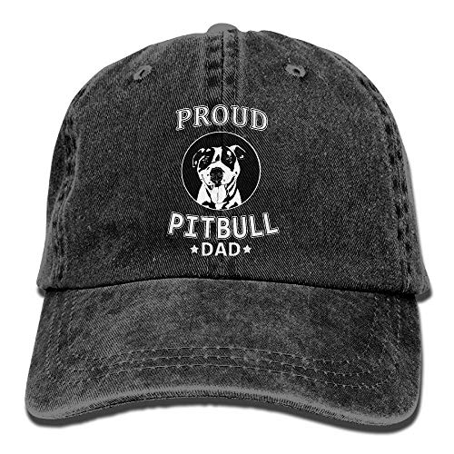Gorgeous products Baseball Jeans Cap Proud Pitbull Dad Women Baseball Cap  Adjust. c27d5d0e3924