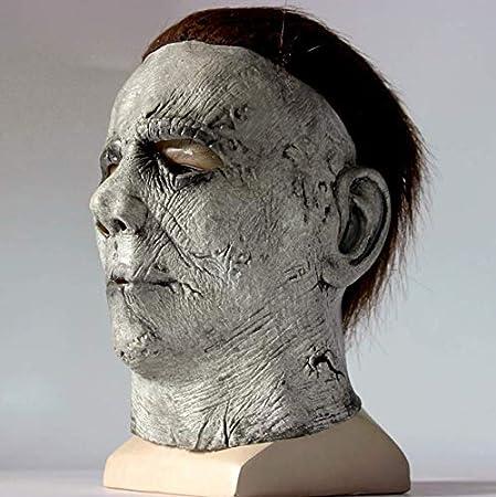 Horror de Halloween Michael Myers Máscara Cosplay Látex ...