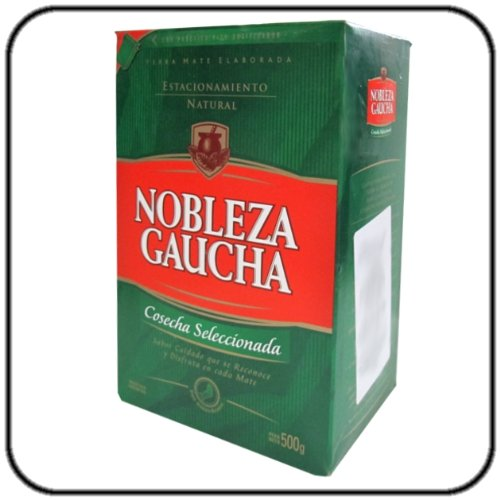 Nobleza Gaucha Yerba Mate - 1.1lb Nobleza Gaucha Cosecha Seleccionada (500g)