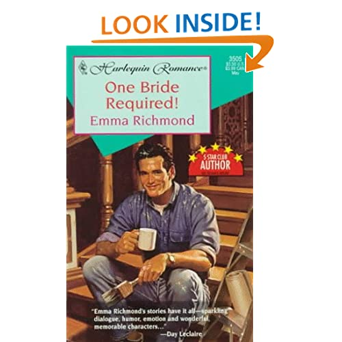 One Bride Required! (Bachelor Territory) (Harlequin Romance) Richmond