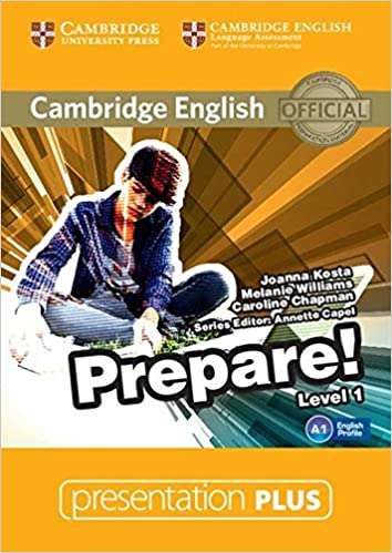 amazon cambridge english prepare level 1 presentation plus dvd