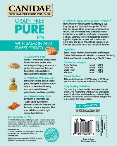 CANIDAE-Grain-Free-PURE-Heaven-Dog-Biscuits-with-Salmon-Sweet-Potato-11-oz