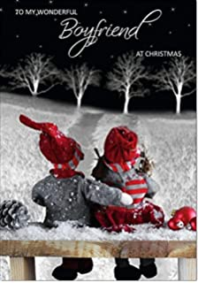 boyfriend christmas card medium size
