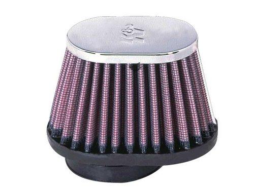 K&N RC-1820 High Performance Universal Clamp-on Chrome Air Filter