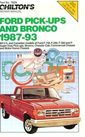 51ZTSKG77TL._SX292_BO1204203200_ chilton's ford pick ups & bronco 1987 93 (chilton model specific  at readyjetset.co