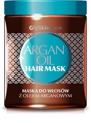 Mascarilla de pelo con aceite de argán puro – Infused con ingredientes naturales 100% puro
