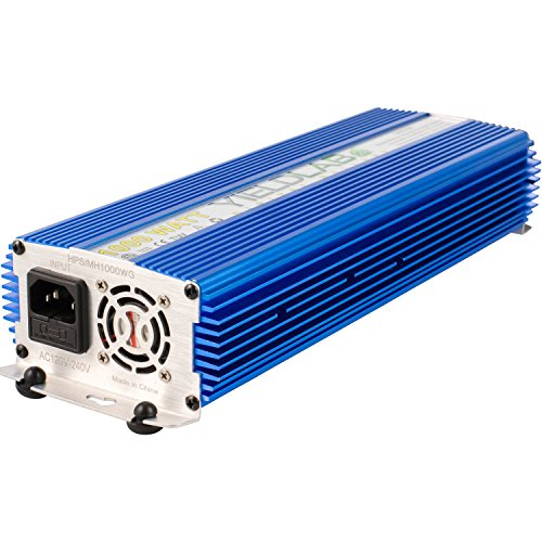 Yield Lab Horticulture 1000w Slim Line Dimmable Digital Ballast for HPS MH Grow Light by Yield Lab (Image #5)