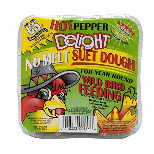 Hot Pepper Suet Cake, 11.75 oz.