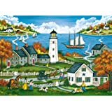 Watching Over the Bay,1000 pc Worlds Smallest Tin by Master Pieces