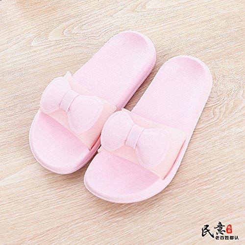 YMFIE Zapatillas de Baño de Moda para Mujer de Verano, Interiores y Exteriores f