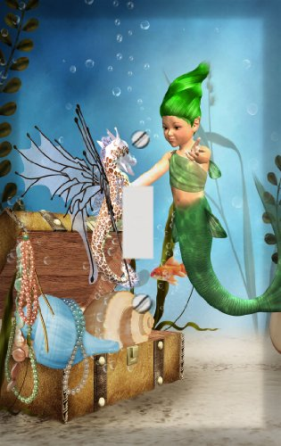 little mermaid wall cover - 6