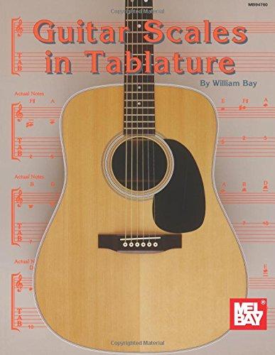 Guitar guitar tablature scales : Amazon.com: Mel Bay Guitar Scales in Tablature (0796279013758 ...