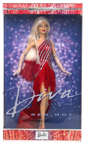 (Barbie Diva Collection - Red Hot Diva Collector Edition (2002))