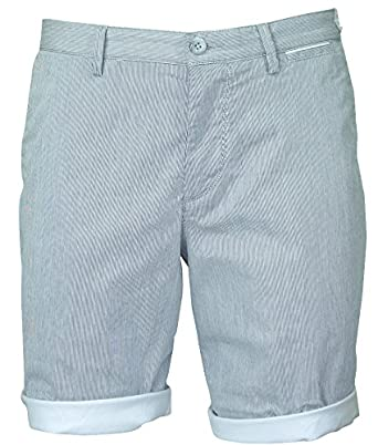 dc2a4abab Hugo Boss Green Clyde 2 Regular Fit Striped Shorts Large BLACK:  Amazon.co.uk: Clothing
