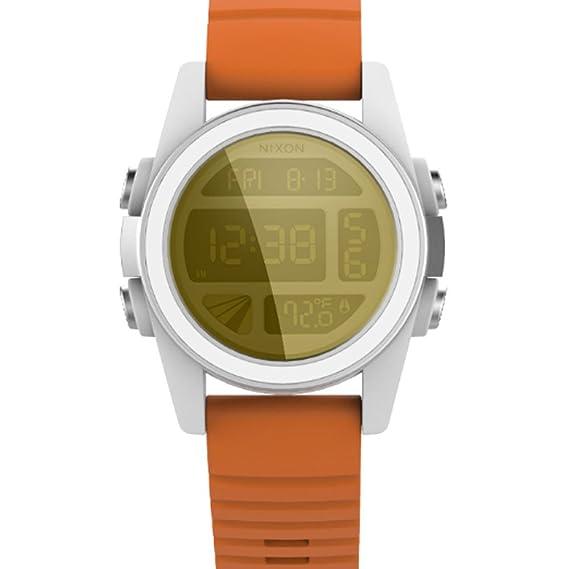 Nixon - Reloj de Pulsera Digital Cuarzo Silicona a197sw2384 - 00: Amazon.es: Relojes