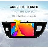 Dasaita 10.2 Android 6.0 Car GPS Navigation for Toyota Corolla 2014 2015 2016 Altis Axio with Octa Core 2GB +32GB Auto Radio Multimedia stereo