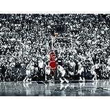 (24x36) Michael Jordan Last Shot 1998 (Chicago Bulls) Poster