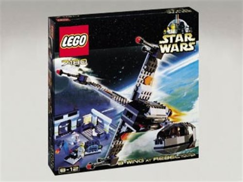 LEGO Star Wars 7180 B-Wing Fighter at Rebel Control - B-wing Wars Fighter Star