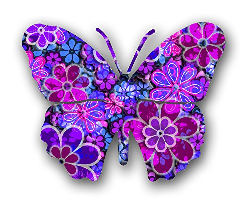 Next Innovations Steel Butterfly Wall Decor, Blossom