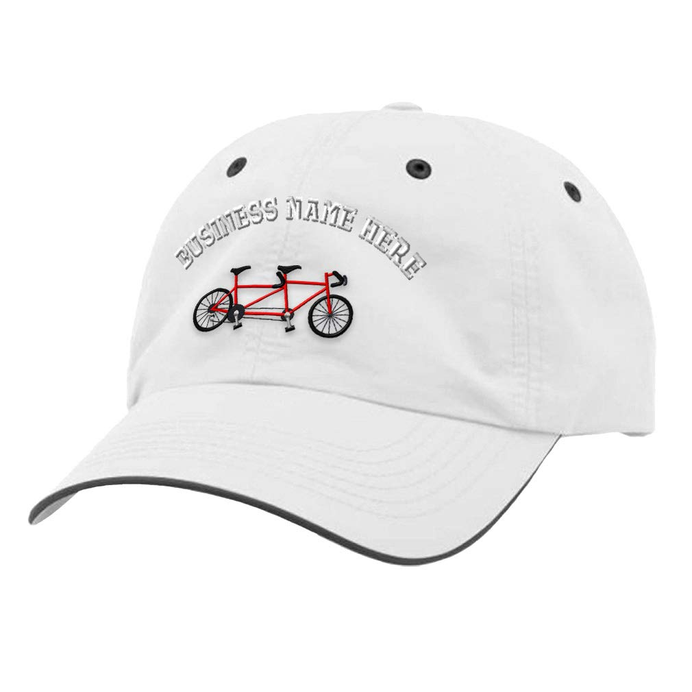 Custom Richardson Running Cap Tandem Bike Embroidery Business Name Polyester Hat