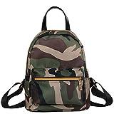 Cheap Lanhui_Exquisite Teenage Girl Boy Zipper Backpack School Bag Fashion Shoulder Bag (Camouflage)