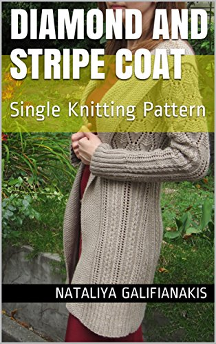 Diamond and Stripe Coat: Single Knitting Pattern (Neuroknits Designs Book (Stripes Design Diamond)