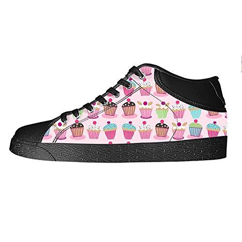 Custom Bign¨¦ dolce Womens Canvas shoes I lacci delle scarpe scarpe scarpe da ginnastica Alto tetto