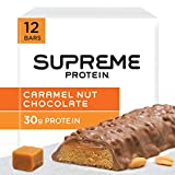 Supreme Protein Bar, Caramel Nut Chocolate, 30g Protein,  3.38 Ounce Bars (Pack of 12) Review