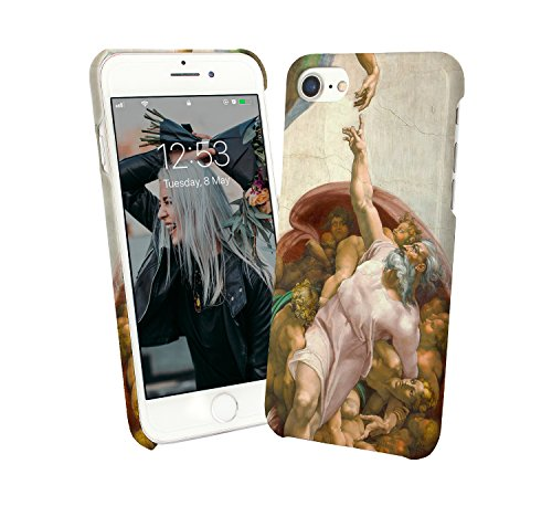 God and Human Energy Power Art Painting Renaissance_000240 Protective Case Cover Hard Plastic for Samsung Galaxy Note 9 N9 (2018) Funny Gift Christmas for Him for Her