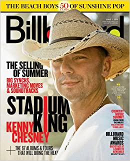Billboard Magazine - Kenny Chesney on Cover - Billboard Music Awards