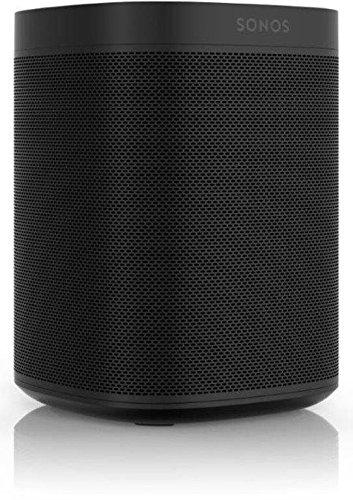 Sonos One - Smart Speaker mit Alexa Sprachsteuerung (Schwarz)