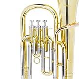 Mendini MBR-30 Intermediate Brass B Flat Baritone