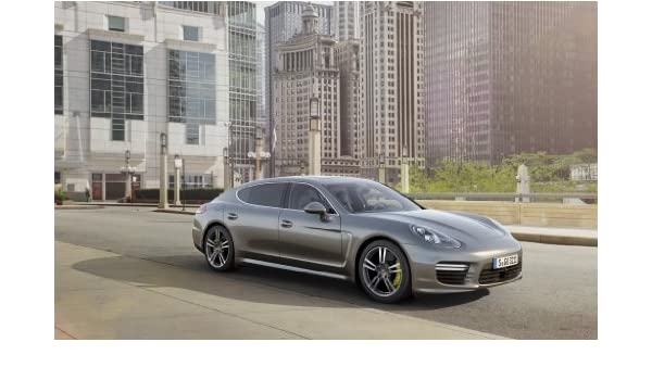 Amazon.com: 2014 Porsche Panamera Turbo S Executive 12X18 Metal Wall Art: Posters & Prints