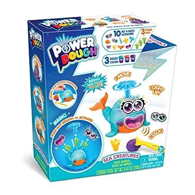Canal Toys Power Dough Sea Creatures Medium Box Interactive Dough (17Piece): Toys & Games