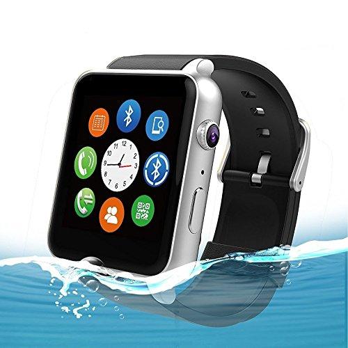 fitzladd GT88 resistente al agua Monitor de frecuencia cardiaca Bluetooth SmartWatch apoyo SIM tarjeta NFC reloj inteligente para ios android sistema ...