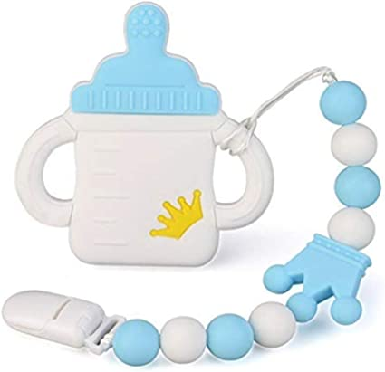 BUNNY Teething Pendant Autism Sensory Chewing Baby Shower UK Supplier