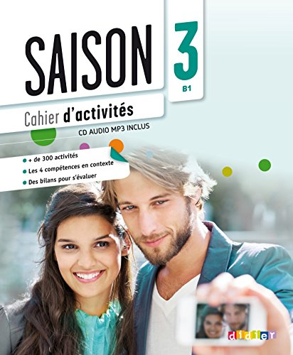 Saison niveau 3 - cahier + cd mp3 (French Edition)