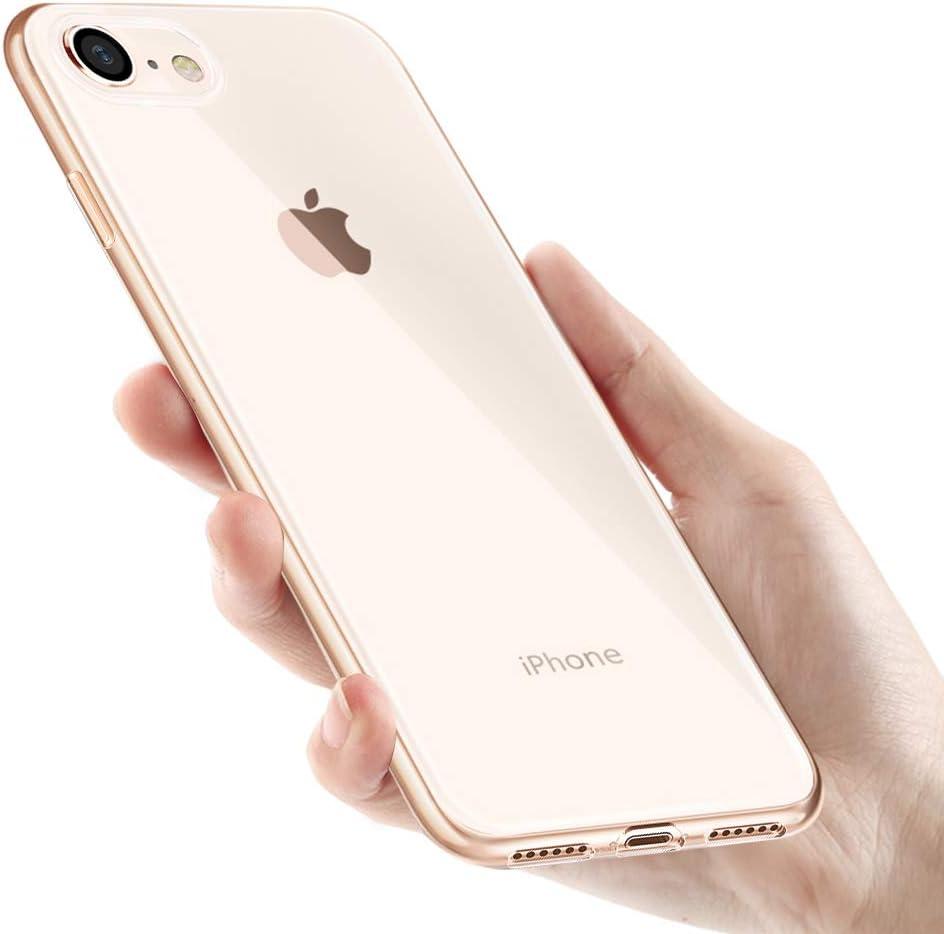Custodia Iphone 8 Silicone Telefono Sottile Cover Iphone 8