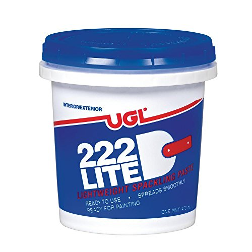 UGL 1 pt. 222 Lite Spackling Paste (2-Pack) ()