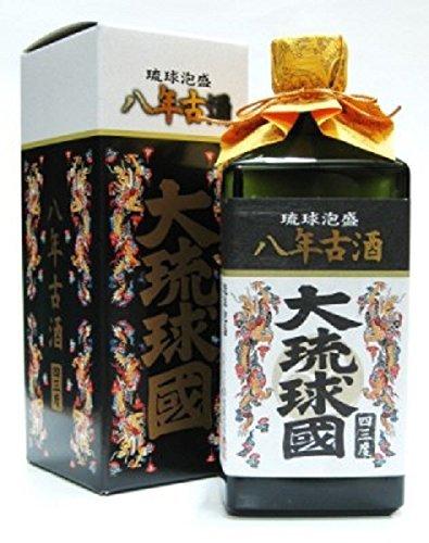 泡盛(お買い得6本)大琉球國 八年古酒 43度 720ml×6 B00RV899T2