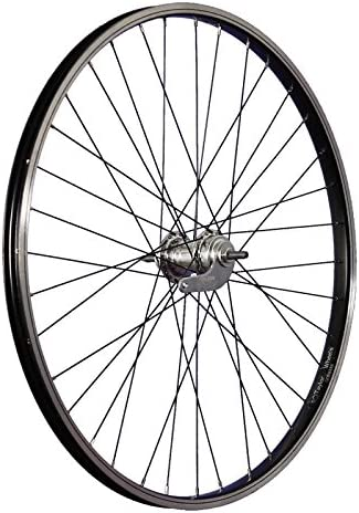 Taylor-Wheels 26 pouces roue avant v/élo aluminium Nirosta 559-21 noir//argent
