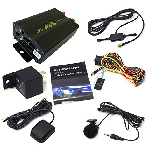 ATian GPS GPRS SMS Real-time Tracker TK103A Quad Band SD Card Slot Anti-Theft Move Alarm by SMS