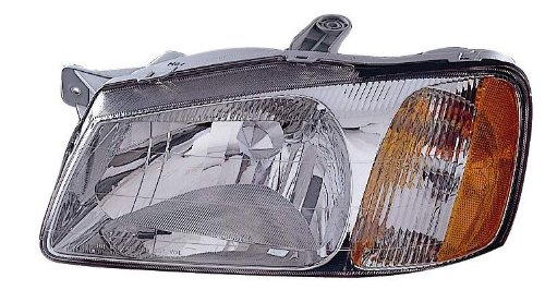 (Depo 321-1118L-AS Hyundai Accent Driver Side Replacement Headlight Assembly)