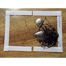 """#26c-8.5"""" wide x 6"""" long =4""""x5"""" usable size Spinnerbait and other Fishing Tackle Covers and pole wraps"""