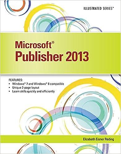 Microsoft publisher 2013 illustrated elizabeth eisner reding microsoft publisher 2013 illustrated 1st edition fandeluxe Image collections